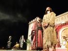 Espetáculo de abertura da Paixão de Cristo atrai cerca de oito mil pessoas