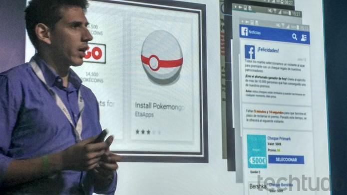 Pokémon Go foi isca para golpes em lojas de aplicativos e jogos para celular (Foto: Melissa Cruz / TechTudo)