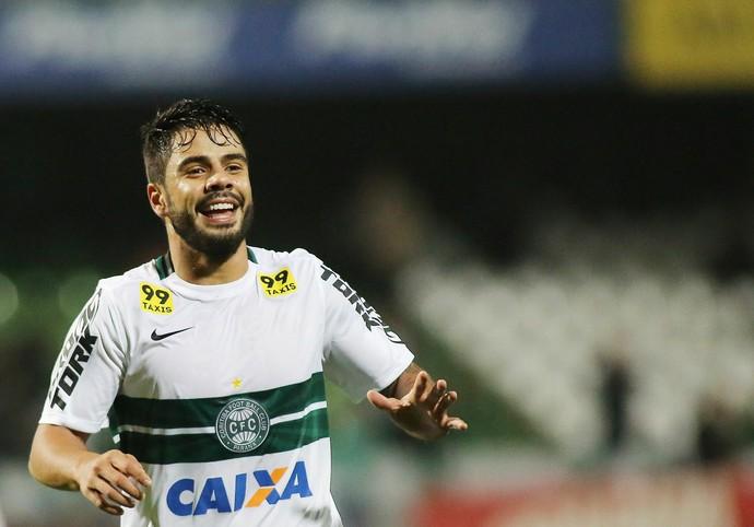Coritiba Fluminense Henrique Almeida (Foto: Giuliano Gomes / Agência PR PRESS)