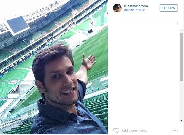 Elieser Ambrosio (Foto: Instagram / Reprodução)
