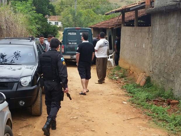 Apreensão ocorreu na tarde deste domingo (6), em Itaocara (Foto: Divulgação/3ª UPAm)