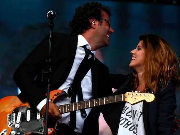 Cidadão Quem convidou a filha do baixista Luciano Leindkecker para canta 'Embalada' e 'Rolling in the Deep' (Foto: Vinicius Costa/ Agência Preview)