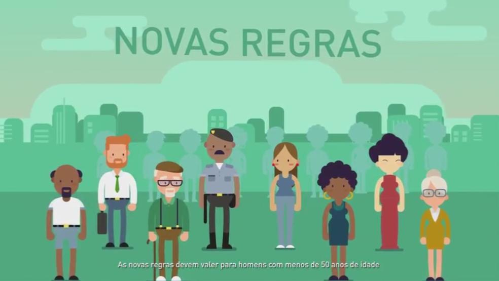 Vídeo mostra os efeitos do envelhecimento da população para as contas públicas (Foto: Reprodução/Apoie a Reforma)