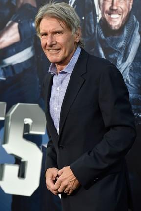 Harrison Ford em première em Los Angeles, nos Estados Unidos (Foto: Frazer Harrison/ Getty Images/ AFP)