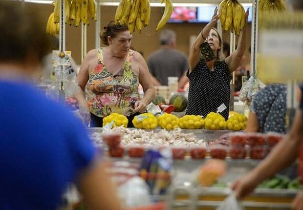 Varejo ; consumo ; inflação ; cesta básica ; supermercado ; compras ; custo de vida ; varejo ;  (Foto: Tânia Rego/Agência Brasil)