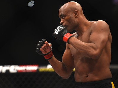 Anderson Silva, UFC 183 (Foto: Getty Images)