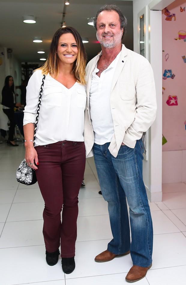 Carla Regina e Malcolm Montgomery (Foto: Manuela Scarpa/Brazil News)