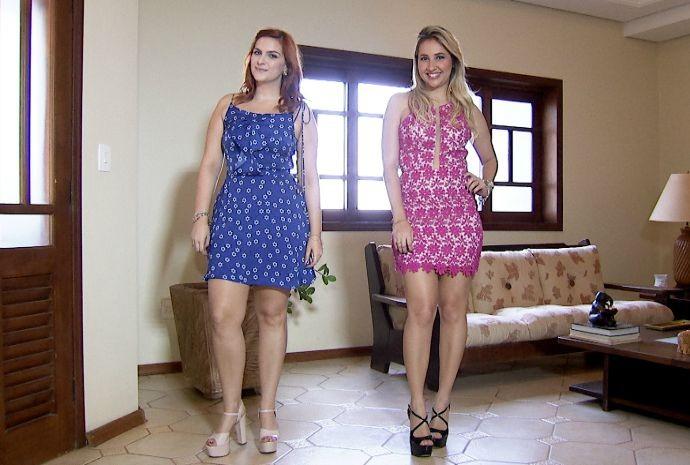 Amantes da moda, da cidade Rio Preto, tiveram lições sobre o uso das cores (Foto: Reprodução / TV TEM)