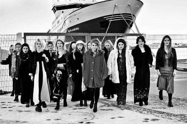 Daughters of Reykjavik, coletivo feminista de rap, da Islândia, que levanta a voz por questões de gênero (Foto: Divulgação)
