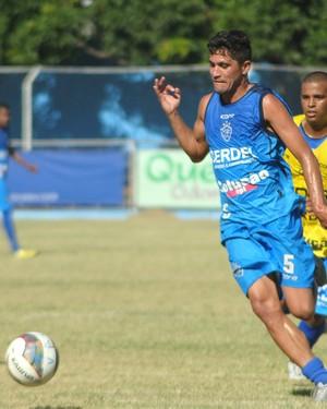 Caetano, jogador do Vitóia-ES (Foto: Henrique Montovanelli/Vitória-FC)
