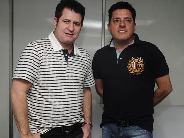 Bruno e Marrone (Foto: Adriana Noya / G1)