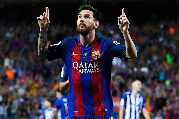 O craque do Barcelona Lionel Messi (Foto: Getty Images)