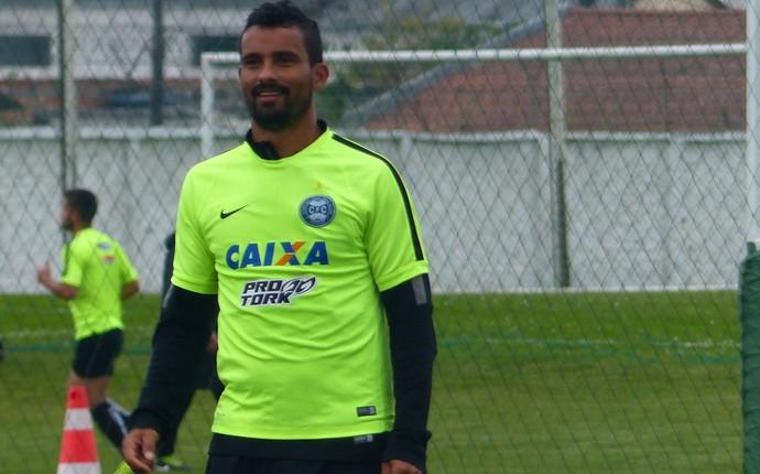 Leandro Silva Coritiba (Foto: Monique Silva)
