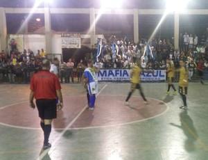 Mendes goleia Itatiaia por 15 a 4 (Foto: Alysson Costa/TV Rio Sul)