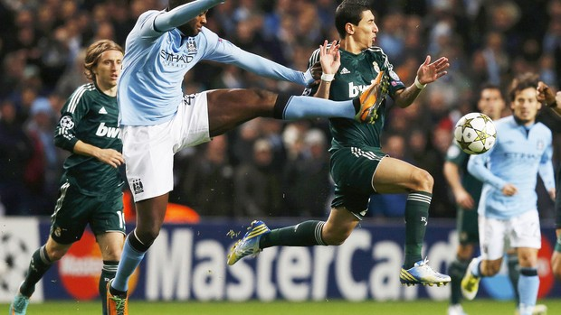Toure e Di Maria, Manchester City e Real Madrid (Foto: Agência Reuters)