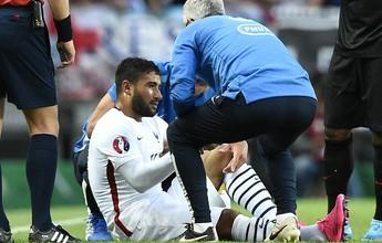 Vírus Fifa ataca de novo, e revelação do Lyon rompe ligamentos do joelho