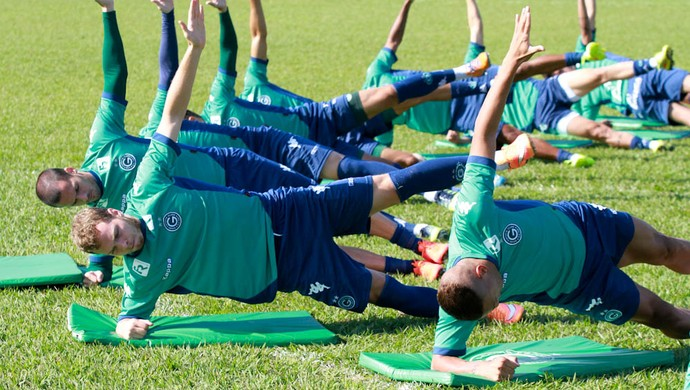 Goiás - treino (Foto: Rosiron Rodrigues / Goiás E.C.)