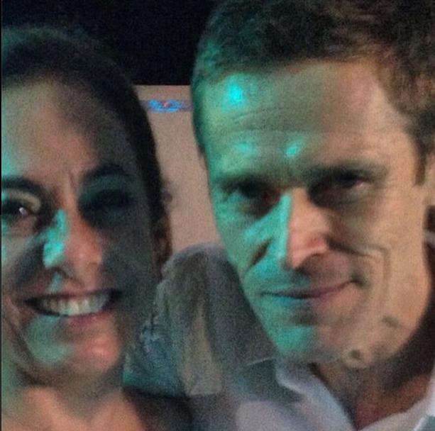 Cissa Guimarães e Willem Dafoe  (Foto: Reprodução/Instagram )