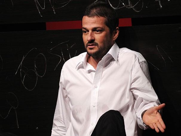 Lucio Mauro fez a adaptação do livro de André Aguiar Marques (Foto: Guga Melgar)