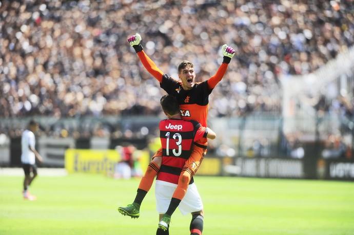 Flamengo - gol - comemoração (Foto: Marcos Ribolli)