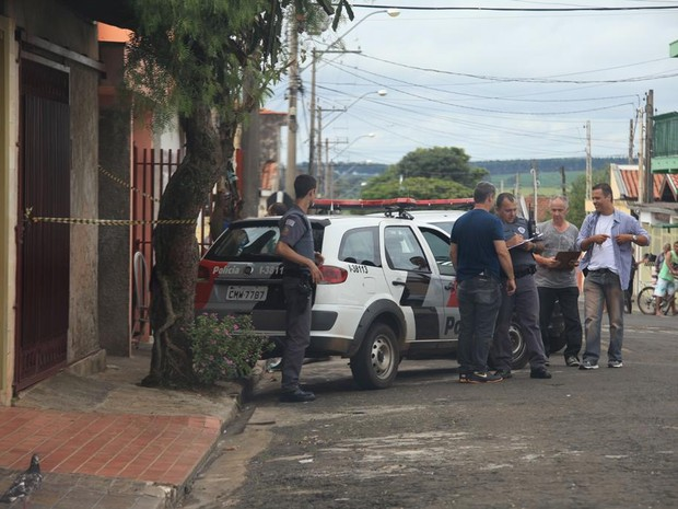 Corpo de idoso foi encontrado em casa de São Carlos (Foto: Moacir Júnior/ Arquivo Pessoal)