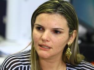 Renata Nóbrega falou sobre o plano de enfrentamento ao mosquito (Foto: Rizemberg Felipe/Jornal da Paraíba)