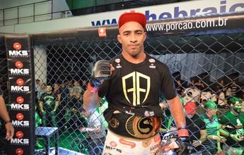 Amilcar Alves é flagrado em exame do doping e perde cinturão do Shooto