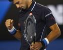 Djokovic segue sem perder sets e vai às oitavas após despachar Verdasco