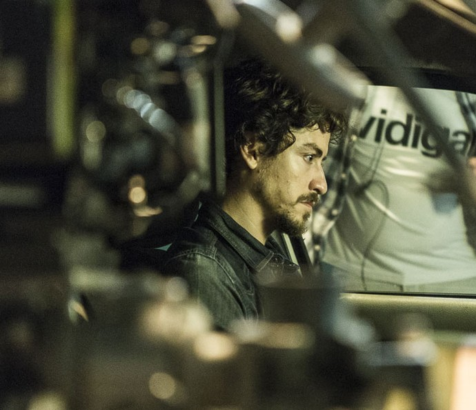 Jesuíta Barbosa grava cenas finais do seu personagem (Foto: Ellen Soares/Gshow)
