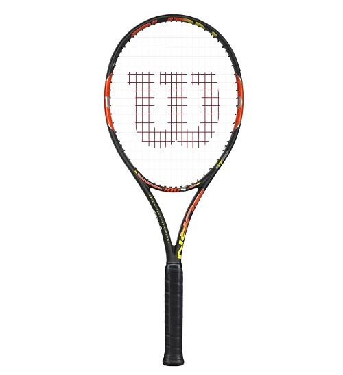 bc641ff39b Wilson atualiza raquete de Federer e lança série Burn