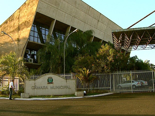 Câmara de Ribeirão Preto (Foto: Cláudio Oliveira/EPTV)