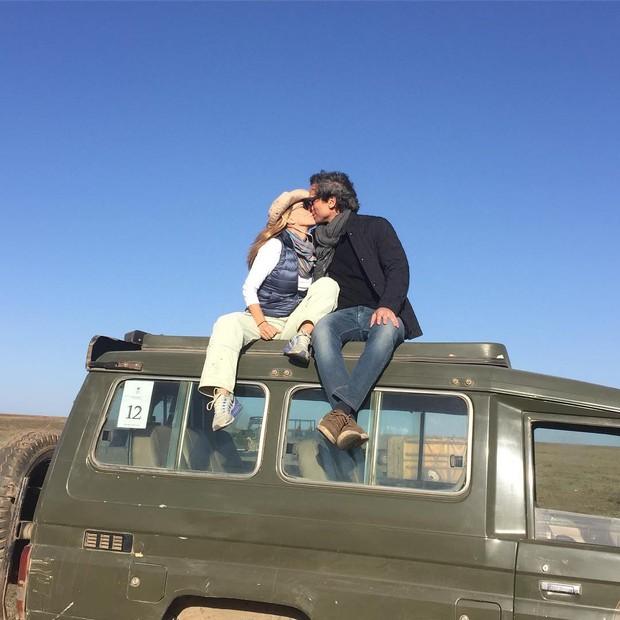 Maitê Proença e namorado  (Foto: Reprodução/Instagram)