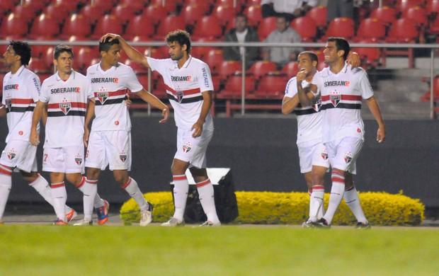 Willian José gol São Paulo x bahia (Foto: Dorival Rosa / Vipcomm)