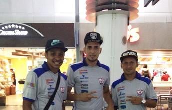 Sem informações do Fast, elenco do Águia embarca para Manaus