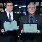 Professores recebem homenagem (Ares Soares/Unifor)