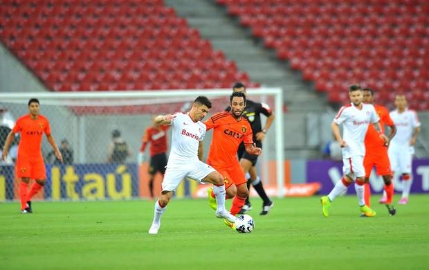 Sport x Internacional Série A (Foto: Aldo Carneiro / Pernambuco Press)