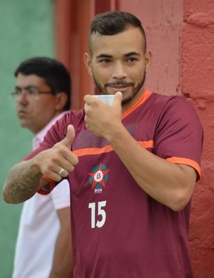 Atacante Rodolfo retorna ao Boa Esporte para tentar acesso no Módulo 2 do Mineiro (Foto: Régis Melo)