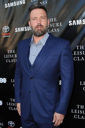 Ben Affleck em première em Los Angeles, nos Estados Unidos (Foto: Angela Weiss/ Getty Images/ AFP)