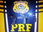 PRF prende trio com armas e munição na BR-040, em Petrópolis, no RJ