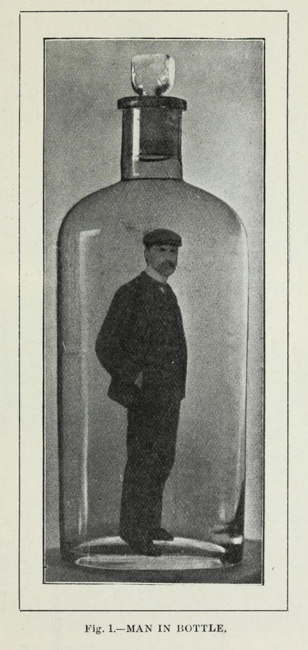 (Foto:  Trick Photography: A Handbook (1906)/Mentalfloss)