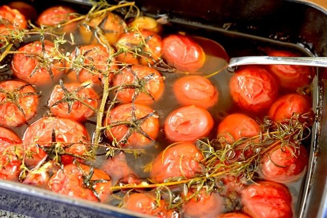 Tomates confit (Foto: Mauro Holanda)