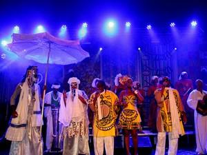 Banda Cortejo Afro realizou mais um ensaio de verão na última segunda-feira (10), em Salvador (Foto: Edgar de Souza/Agência Edgar de Souza)