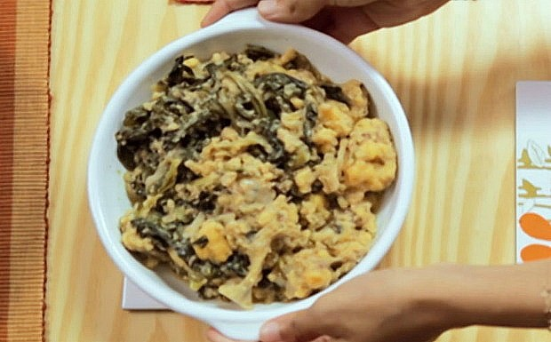 Bela Cozinha - Ep. 10 - Polenta com folhas verdes (Foto: Reproduo / GNT)