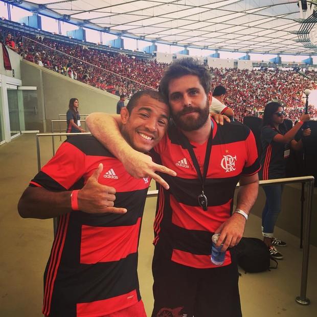 Thiago Gagliasso e José Aldo (Foto: Reprodução / Instagram)