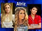 Divas da TV se enfrentam na categoria Atriz do Melhores do Ano