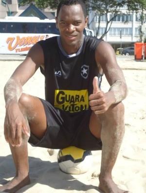 Edylecir, futebol de areia, Botafogo (Foto: Divulgação)
