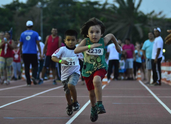 Maratoninha da criança (Foto: Mauro Neto/Sejel)
