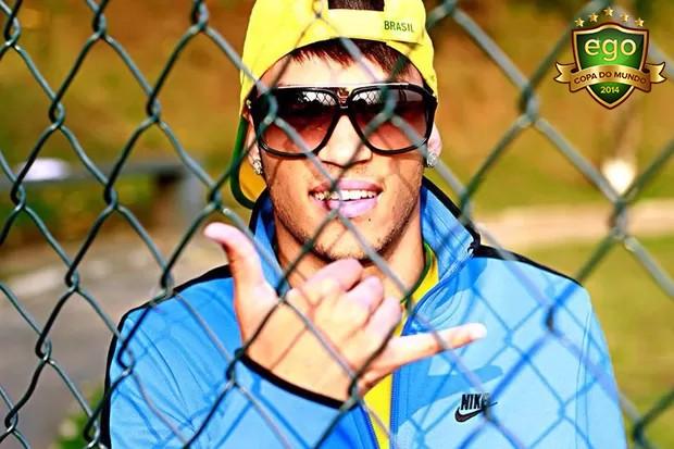 Sósia do Neymar (Foto: Facebook/Reprodução)