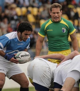 Brasil masculino Mundial Universitário de Rugby Sevens São José-SP (Foto: Luiz Pires/Fotojump)