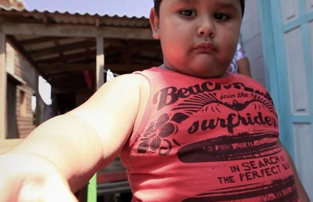Cena do documentário sobre a obesidade infantil (Foto: Divulgação)